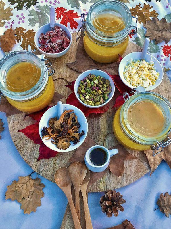 tabla otoño crema calabaza receta
